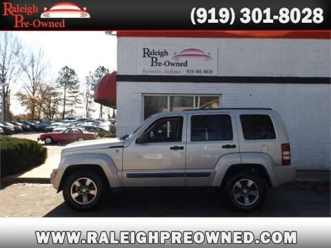 2008 Jeep Liberty for sale at Raleigh Pre-Owned in Raleigh NC