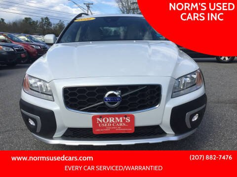 2016 Volvo XC70 for sale at NORM'S USED CARS INC in Wiscasset ME