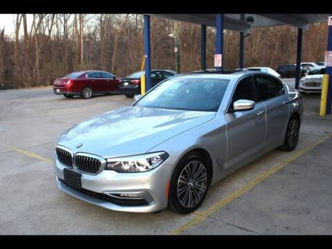 2018 BMW 5 Series for sale at Inline Auto Sales in Fuquay Varina NC