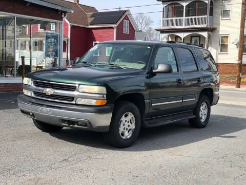2004 Chevrolet Tahoe for sale at Emory Street Auto Sales and Service in Attleboro MA
