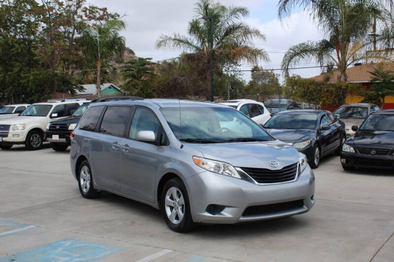 2012 Toyota Sienna for sale at Car 1234 inc in El Cajon CA