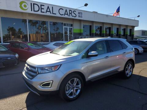 2018 Ford Edge for sale at Ideal Cars Broadway in Mesa AZ