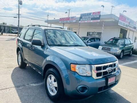 2010 Ford Escape for sale at Dream Motors in Sacramento CA