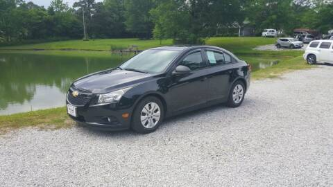 2013 Chevrolet Cruze for sale at Victory Auto Sales LLC in Mooreville MS