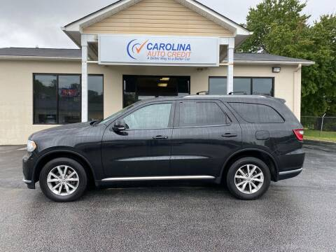 2015 Dodge Durango for sale at Carolina Auto Credit in Youngsville NC