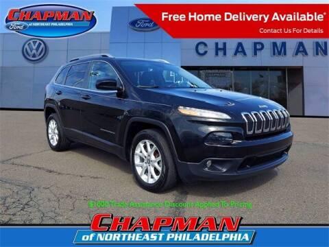 2018 Jeep Cherokee for sale at CHAPMAN FORD NORTHEAST PHILADELPHIA in Philadelphia PA