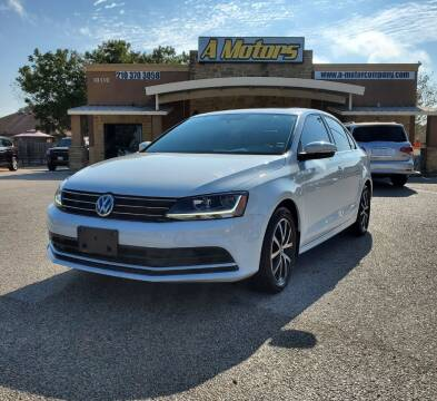 2017 Volkswagen Jetta for sale at A MOTORS SALES AND FINANCE - 6226 San Pedro Lot in San Antonio TX