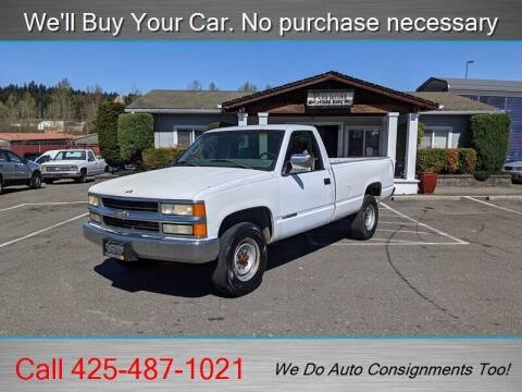 2000 Chevrolet C/K 2500 Series for sale at Platinum Autos in Woodinville WA