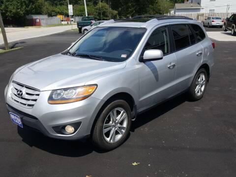 2011 Hyundai Santa Fe for sale at Premier Auto Sales Inc. in Newport News VA