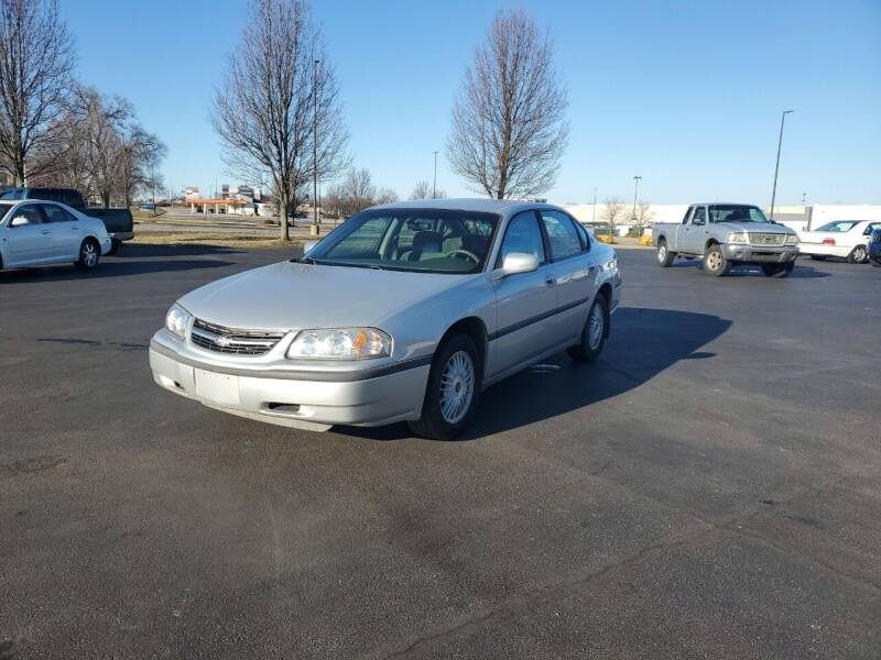 2001 Chevrolet Impala for sale at Boardman Auto Exchange in Youngstown OH