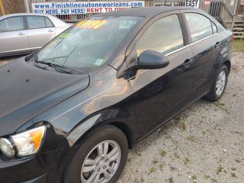 2014 Chevrolet Sonic for sale at Finish Line Auto LLC in Luling LA