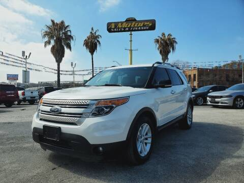 2014 Ford Explorer for sale at A MOTORS SALES AND FINANCE - 10110 West Loop 1604 N in San Antonio TX