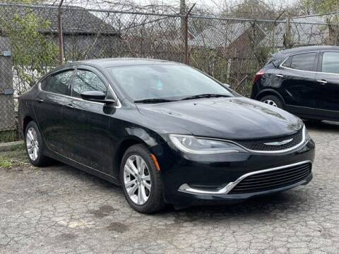 2015 Chrysler 200 for sale at SOUTHFIELD QUALITY CARS in Detroit MI