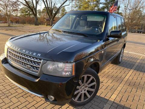 2010 Land Rover Range Rover for sale at JES Auto Sales LLC in Fairburn GA