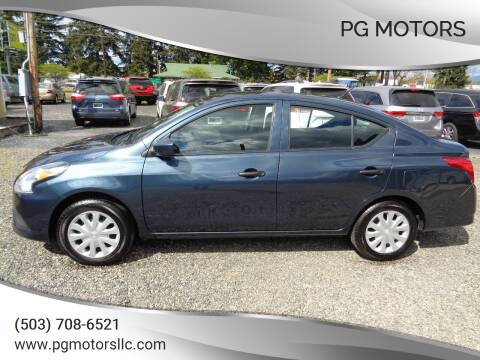 2017 Nissan Versa for sale at PG Motors in Portland OR