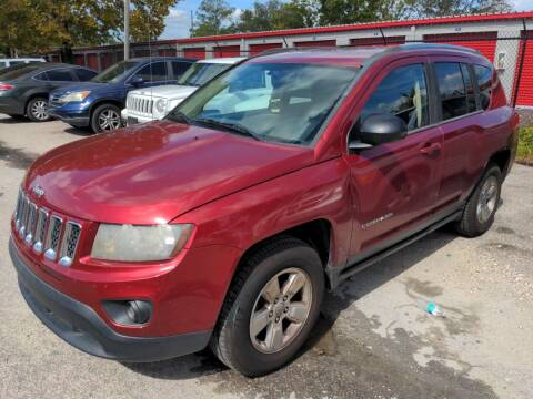 2014 Jeep Compass for sale at SUNRISE AUTO SALES in Gainesville FL
