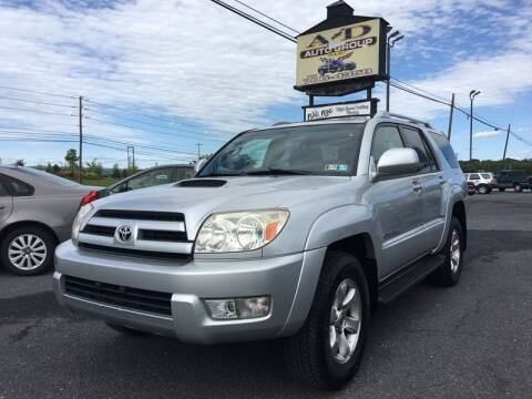 2004 Toyota 4Runner for sale at A & D Auto Group LLC in Carlisle PA