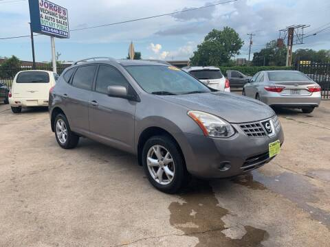 2009 Nissan Rogue for sale at JORGE'S MECHANIC SHOP & AUTO SALES in Houston TX