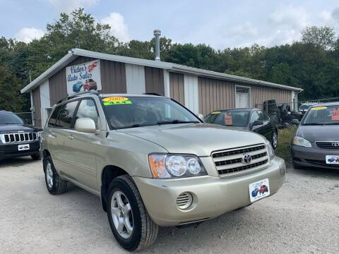 2003 Toyota Highlander for sale at Victor's Auto Sales Inc. in Indianola IA