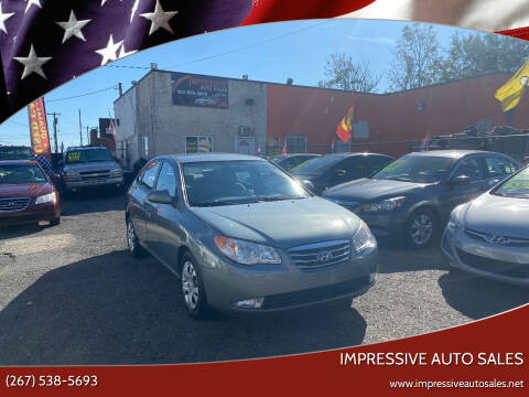 2010 Hyundai Elantra for sale at Impressive Auto Sales in Philadelphia PA