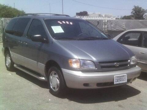 2000 Toyota Sienna for sale at Valley Auto Sales & Advanced Equipment in Stockton CA