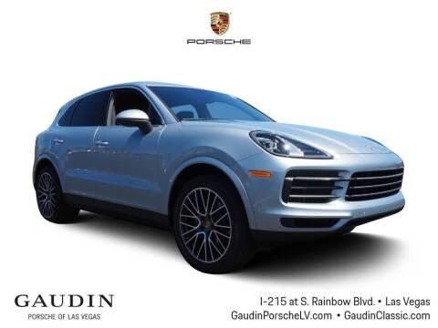 2020 Porsche Cayenne for sale at Gaudin Porsche in Las Vegas NV