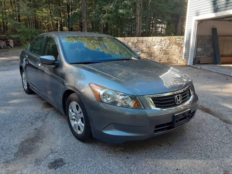 2009 Honda Accord for sale at Cappy's Automotive in Whitinsville MA