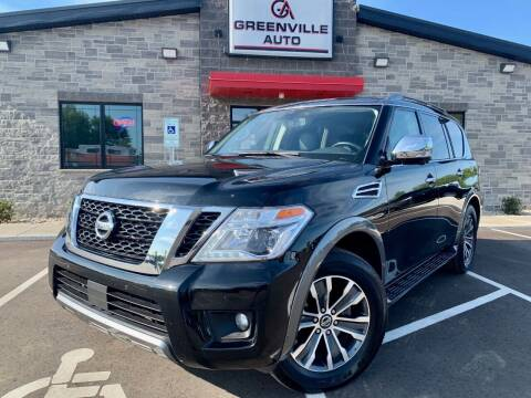 2019 Nissan Armada for sale at GREENVILLE AUTO & RV in Greenville WI