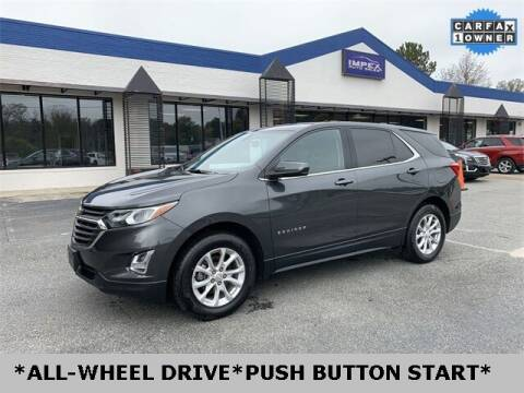 2018 Chevrolet Equinox for sale at Impex Auto Sales in Greensboro NC