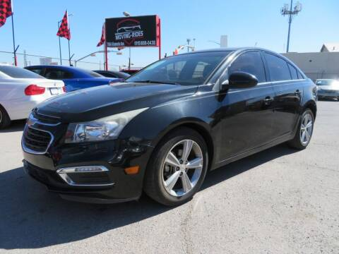 2015 Chevrolet Cruze for sale at Moving Rides in El Paso TX