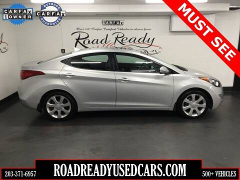 2012 Hyundai Elantra for sale at Road Ready Used Cars in Ansonia CT