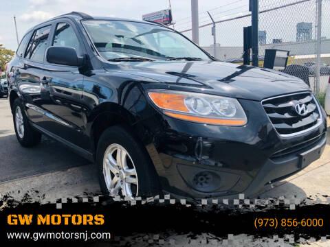 2011 Hyundai Santa Fe for sale at GW MOTORS in Newark NJ