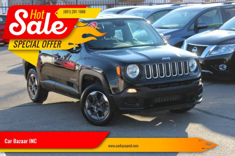 2018 Jeep Renegade for sale at Car Bazaar INC in Salt Lake City UT
