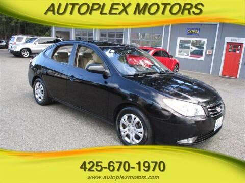 2010 Hyundai Elantra for sale at Autoplex Motors in Lynnwood WA