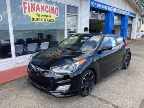 2013 Hyundai Veloster for sale at AutoMotion Sales in Franklin OH
