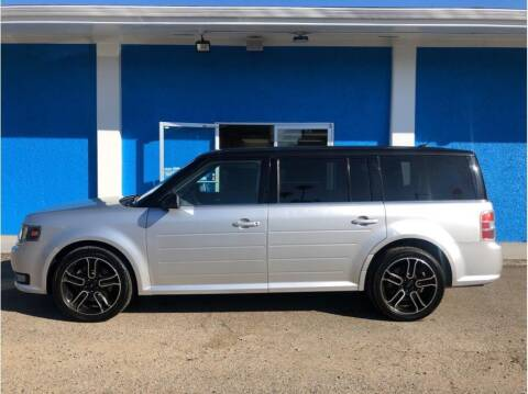 2014 Ford Flex for sale at Khodas Cars in Gilroy CA