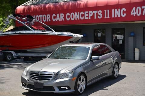 2011 Mercedes-Benz E-Class for sale at Motor Car Concepts II - Apopka Location in Apopka FL