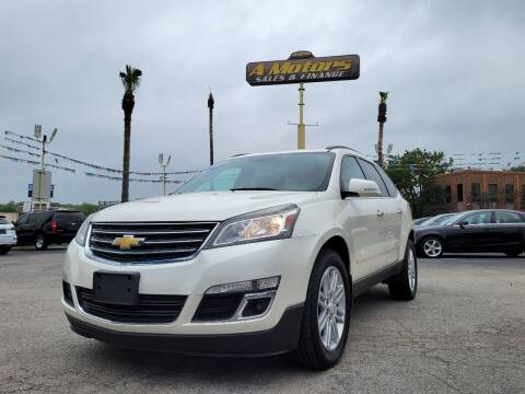 2015 Chevrolet Traverse for sale at A MOTORS SALES AND FINANCE - 6226 San Pedro Lot in San Antonio TX