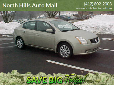 2008 Nissan Sentra for sale at North Hills Auto Mall in Pittsburgh PA