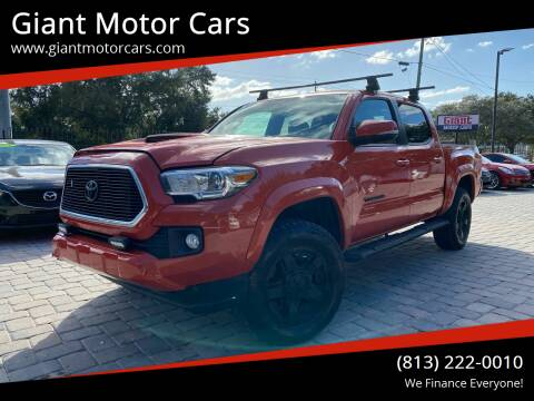 2017 Toyota Tacoma for sale at Giant Motor Cars in Tampa FL