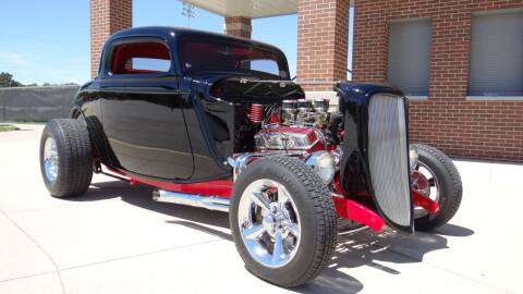 1933 Ford 3 WINDOW COUPE for sale at Klemme Klassic Kars in Davenport IA
