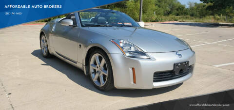 2004 Nissan 350Z for sale at AFFORDABLE AUTO BROKERS in Keller TX