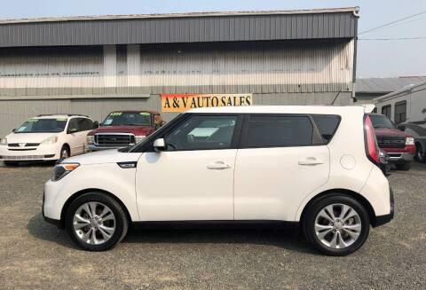 2015 Kia Soul for sale at A & V AUTO SALES LLC in Marysville WA