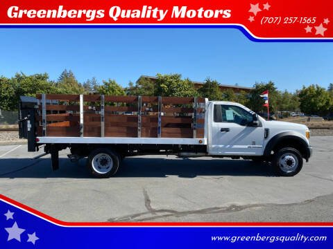 2017 Ford F-450 Super Duty for sale at Greenbergs Quality Motors in Napa CA