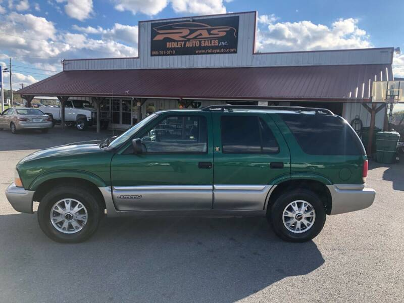 2000 GMC Envoy for sale at Ridley Auto Sales, Inc. in White Pine TN