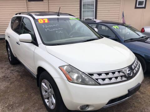 2007 Nissan Murano for sale at Castagna Auto Sales LLC in Saint Augustine FL