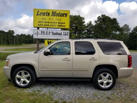 2010 Chevrolet Tahoe for sale at Lewis Motors LLC in Deridder LA