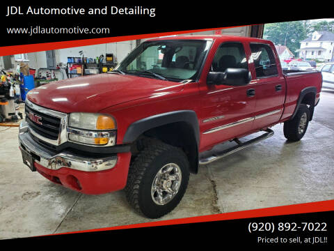 2004 GMC Sierra 2500HD for sale at JDL Automotive and Detailing in Plymouth WI