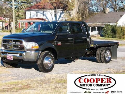 2011 RAM Ram Chassis 4500 for sale at Cooper Motor Company in Clinton SC