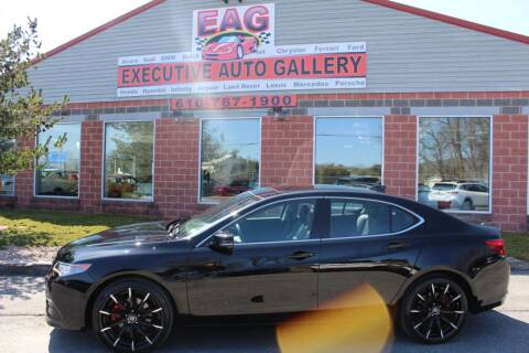 2017 Acura TLX for sale at EXECUTIVE AUTO GALLERY INC in Walnutport PA